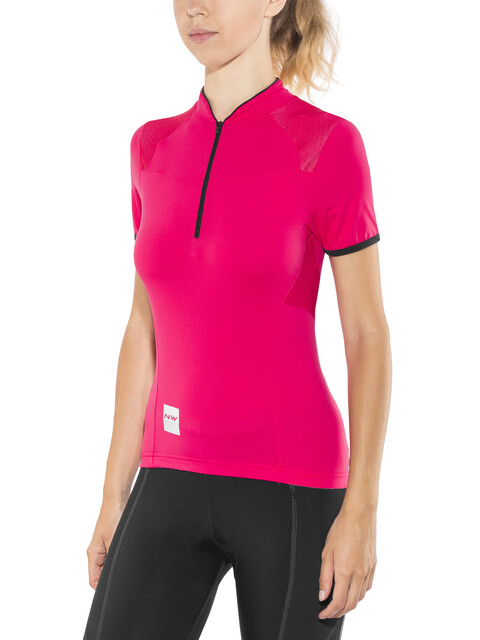 Northwave Venus 2 Bike Jersey Shortsleeve Women red/black